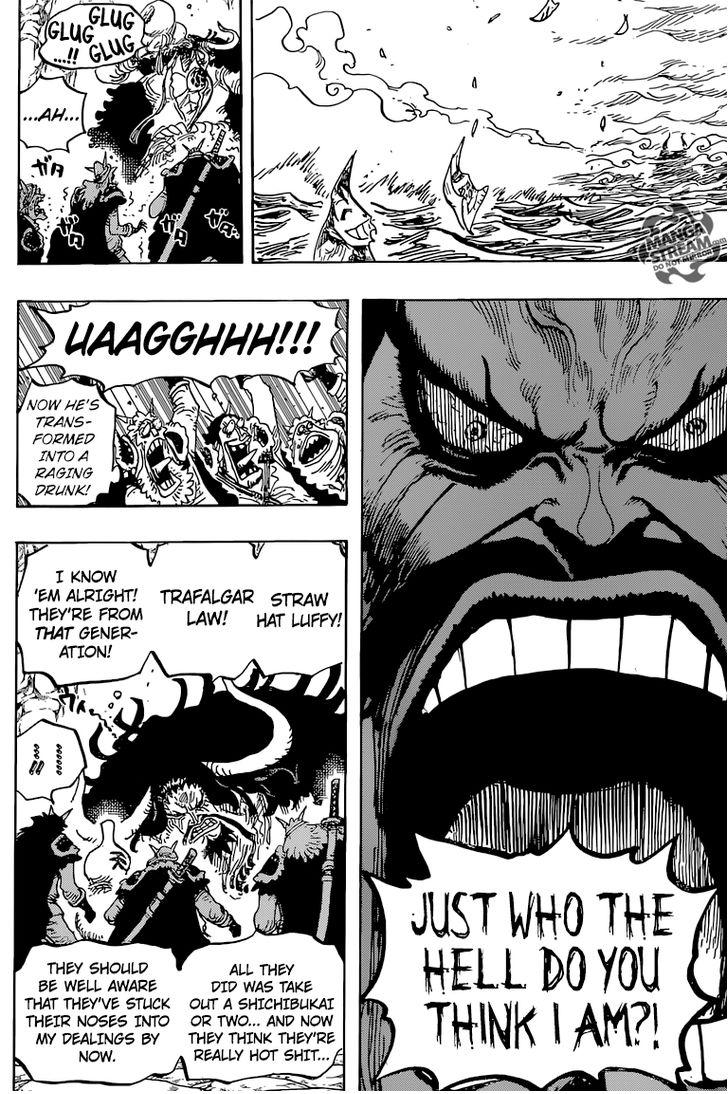 One Piece - Chapter 826