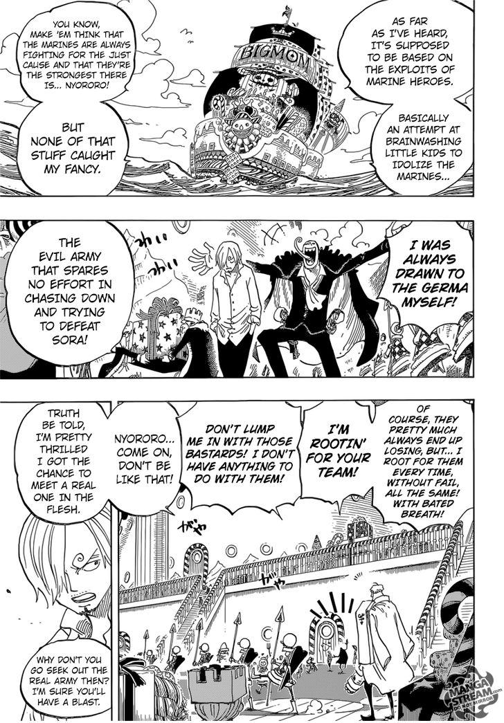 One Piece - Chapter 827