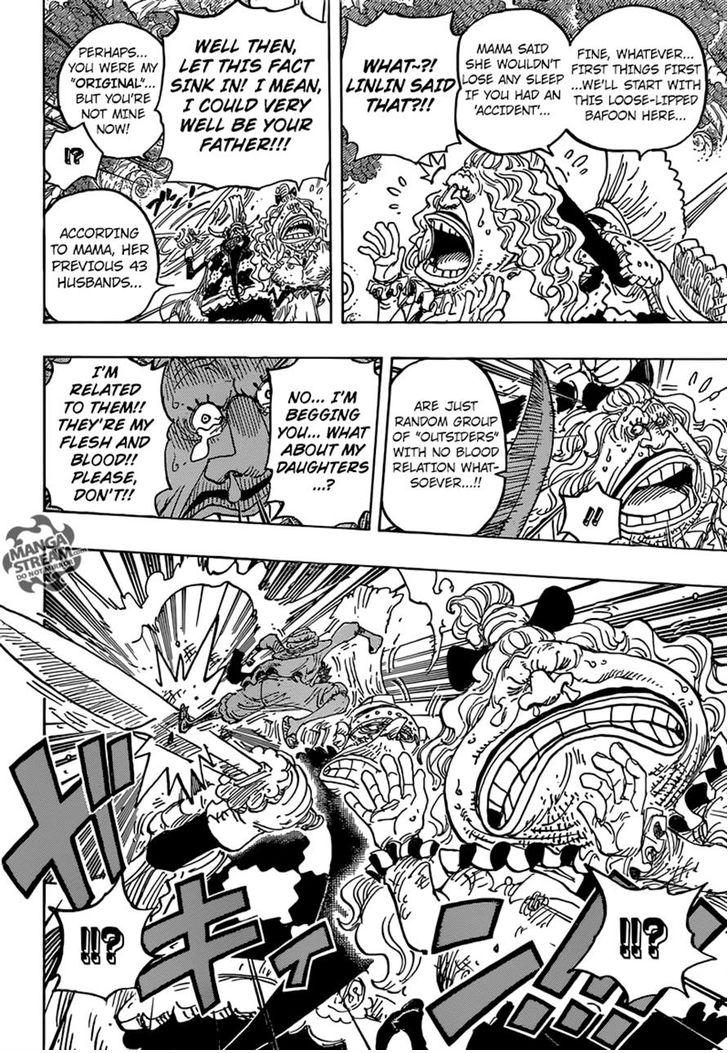 One Piece - Chapter 838