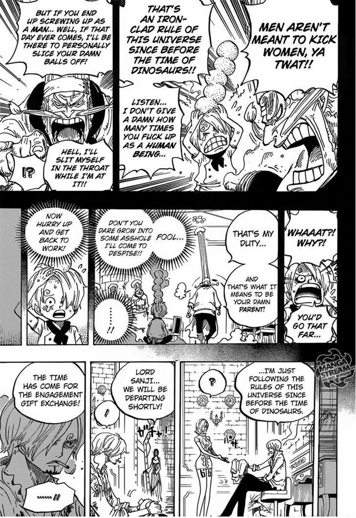 One Piece - Chapter 844