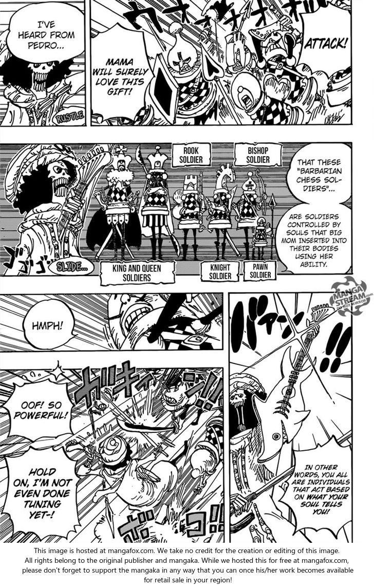 One Piece - Chapter 850