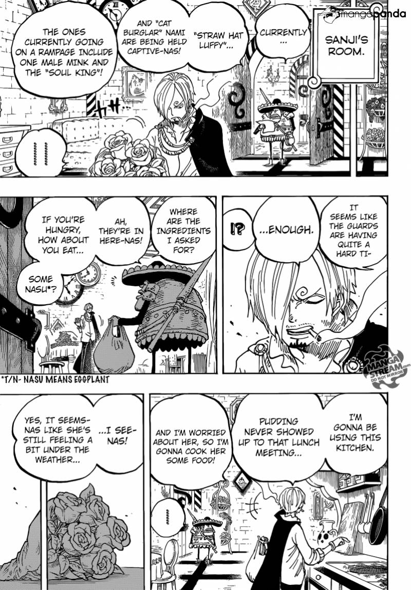 One Piece - Chapter 851