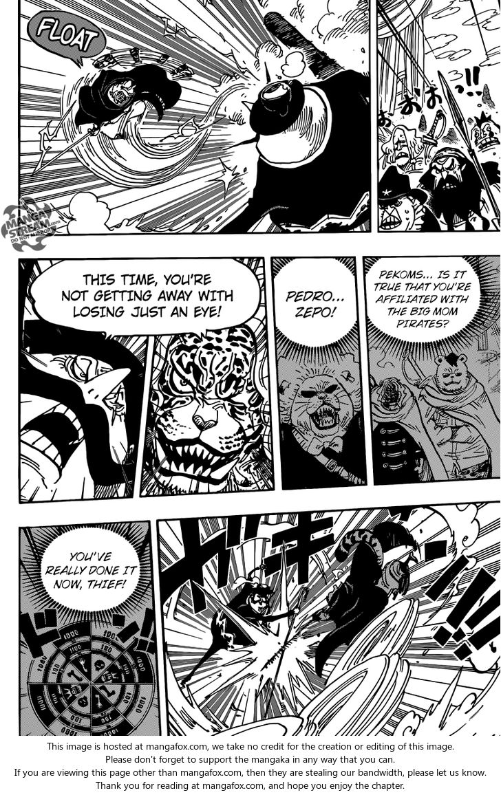 One Piece - Chapter 853
