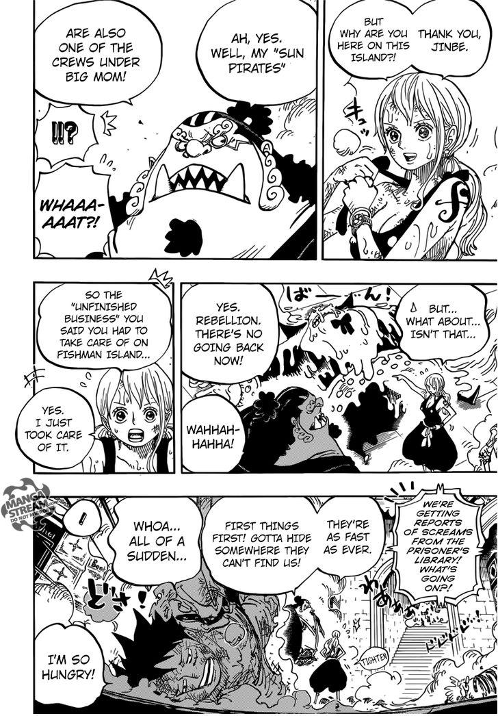 One Piece - Chapter 855