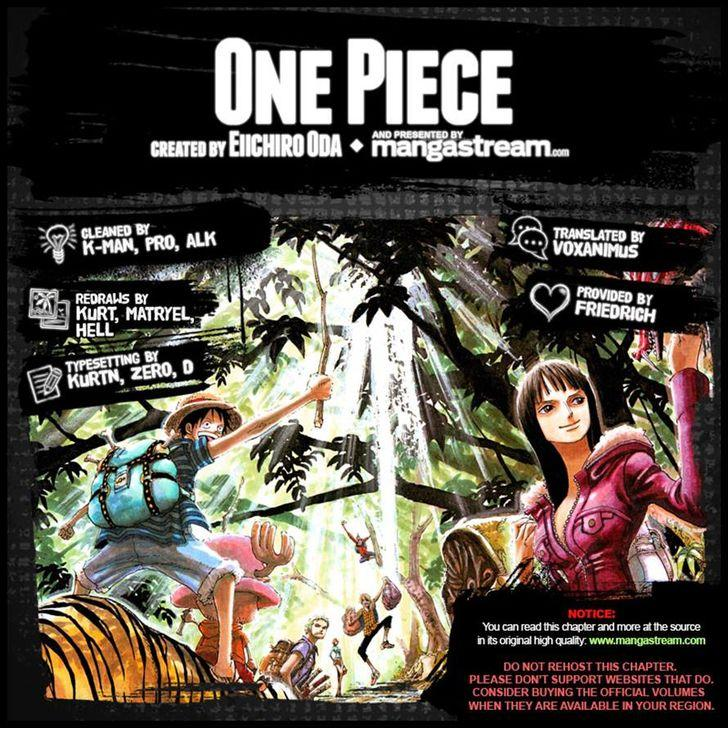One Piece - Chapter 874