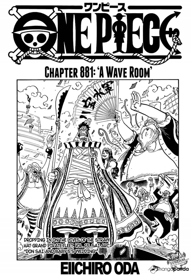 One Piece - Chapter 884