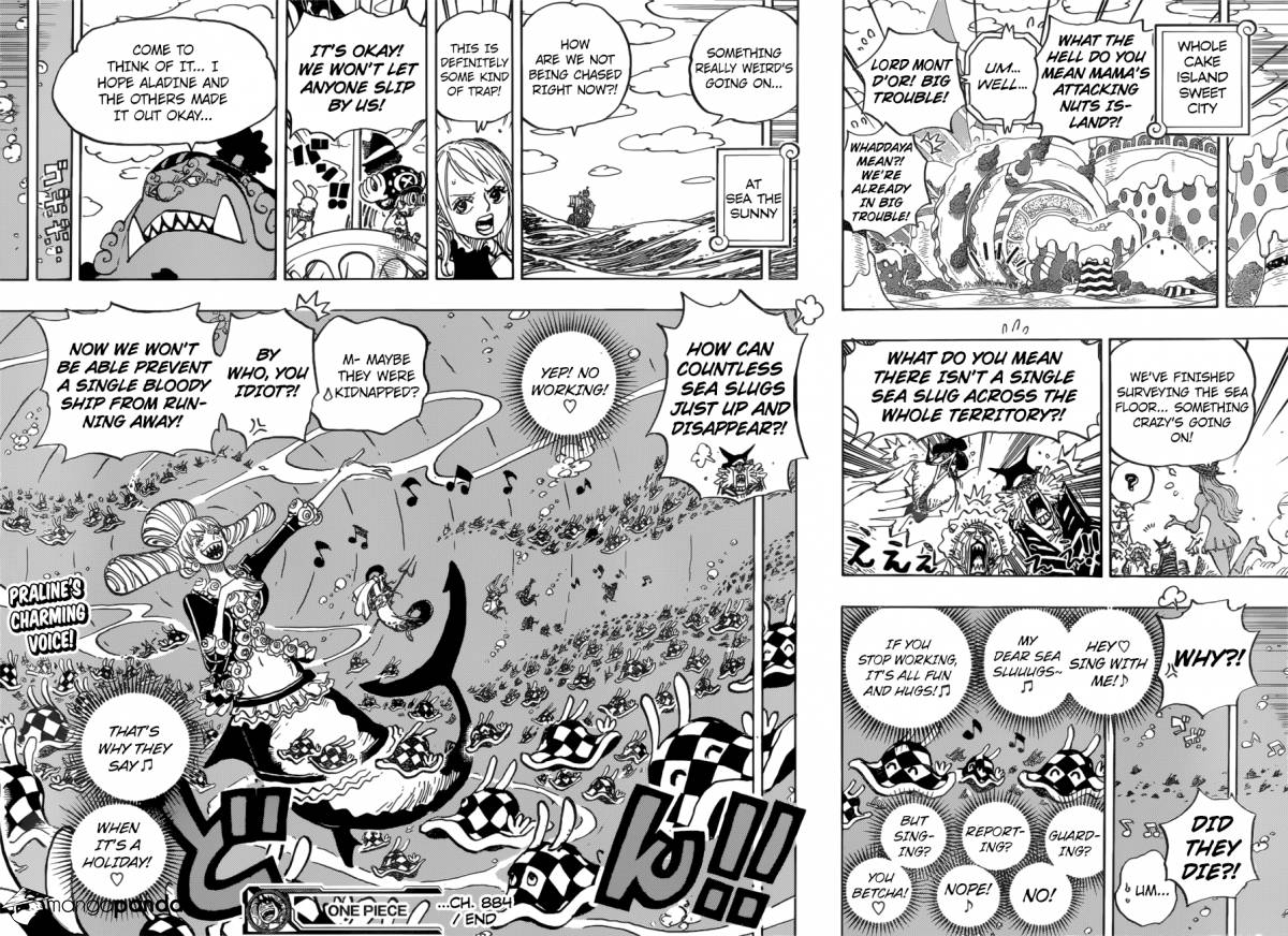 One Piece - Chapter 887
