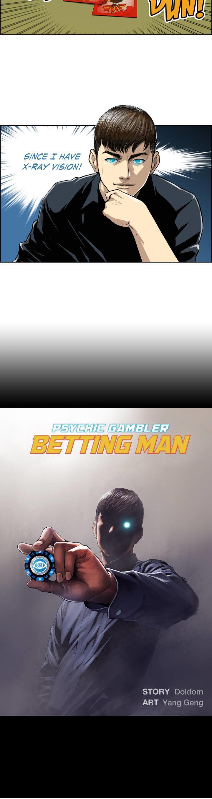 Psychic Gambler: Betting Man - Chapter 1