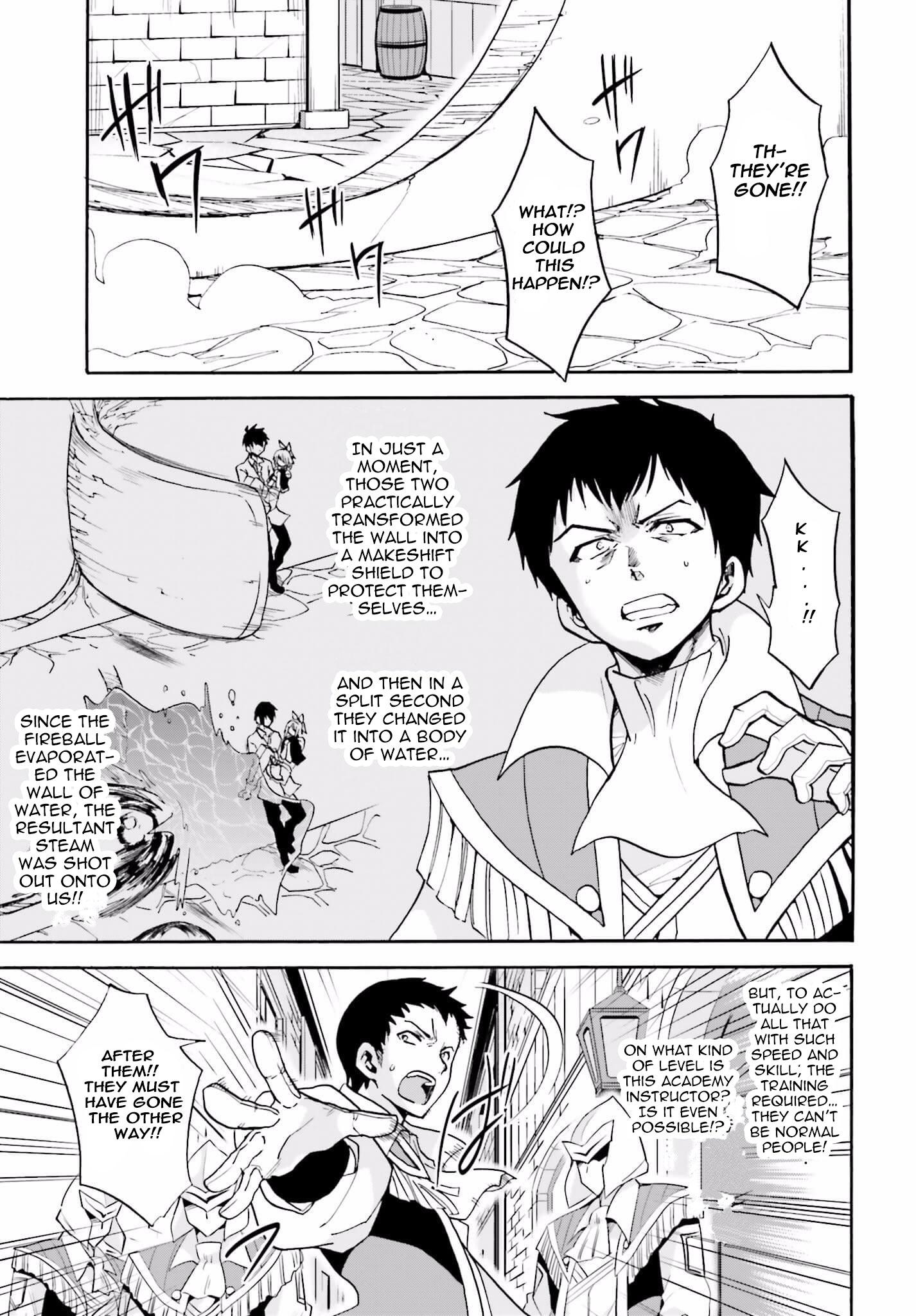 Roku de Nashi Majutsu Koushi to Kinki Kyouten - Chapter 14