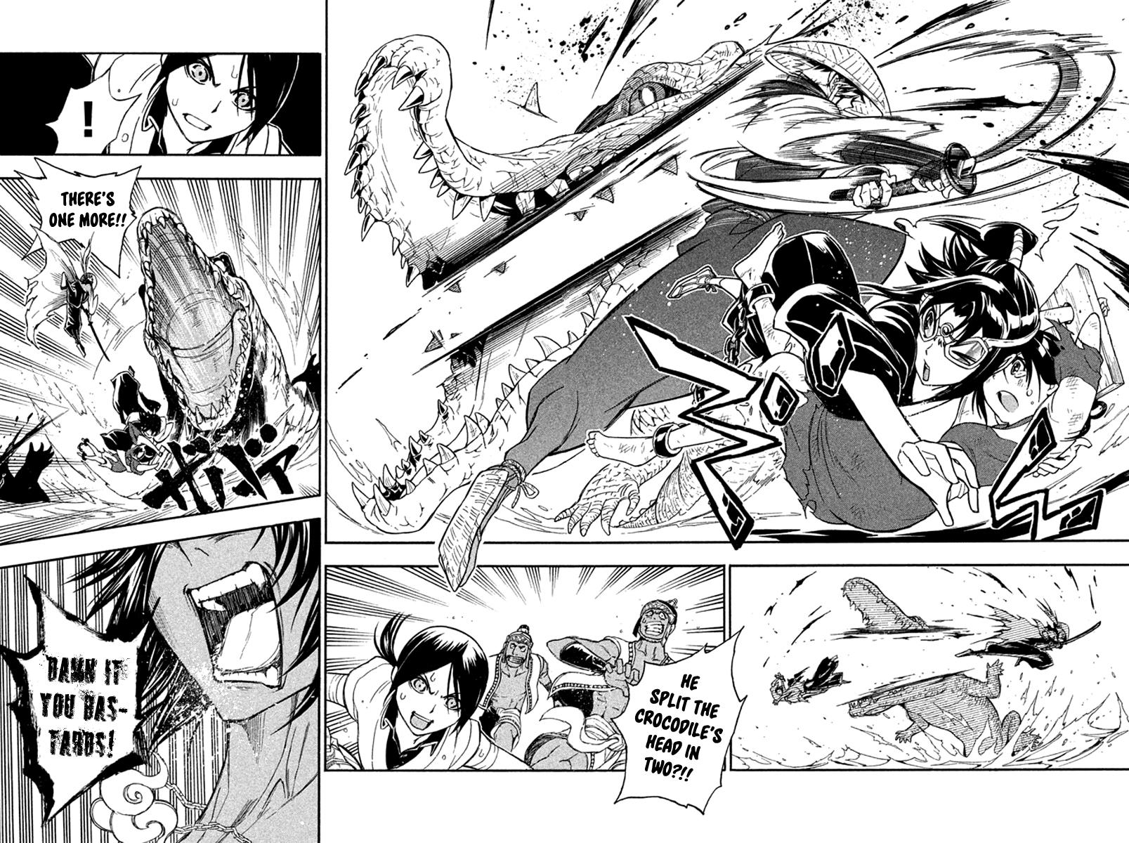 Samurai Ragazzi - Sengoku Shounen Seihou Kenbunroku  page 38 at rocaca.com