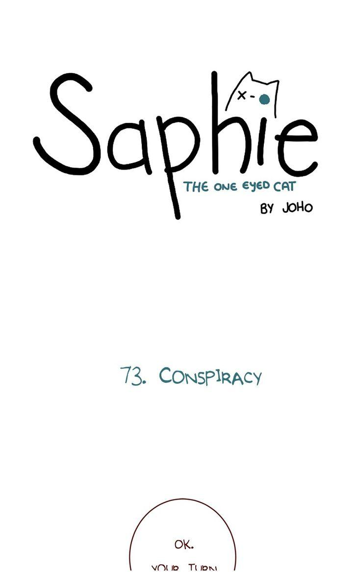 Saphie: The One-Eyed Cat - Chapter 73