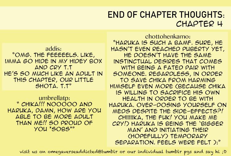Sayonara Alpha - Chapter 4