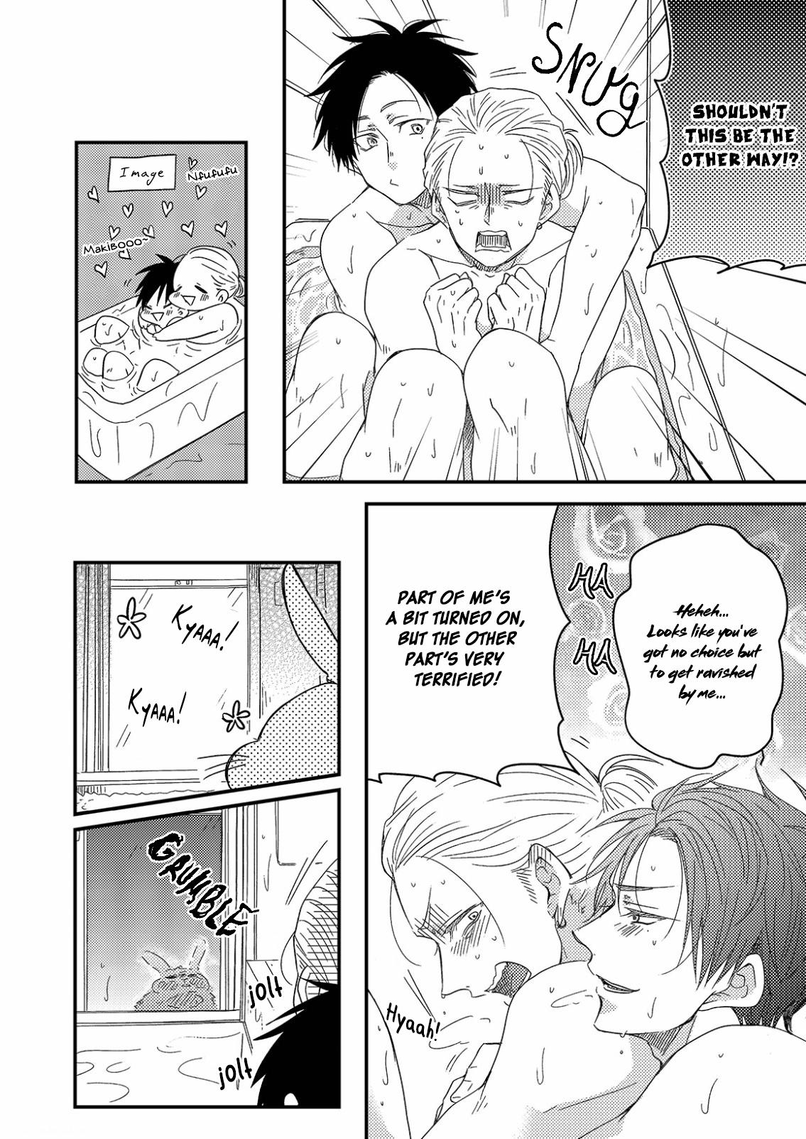 Shiawase Gohan - Maki to Hanazawa - Chapter 7