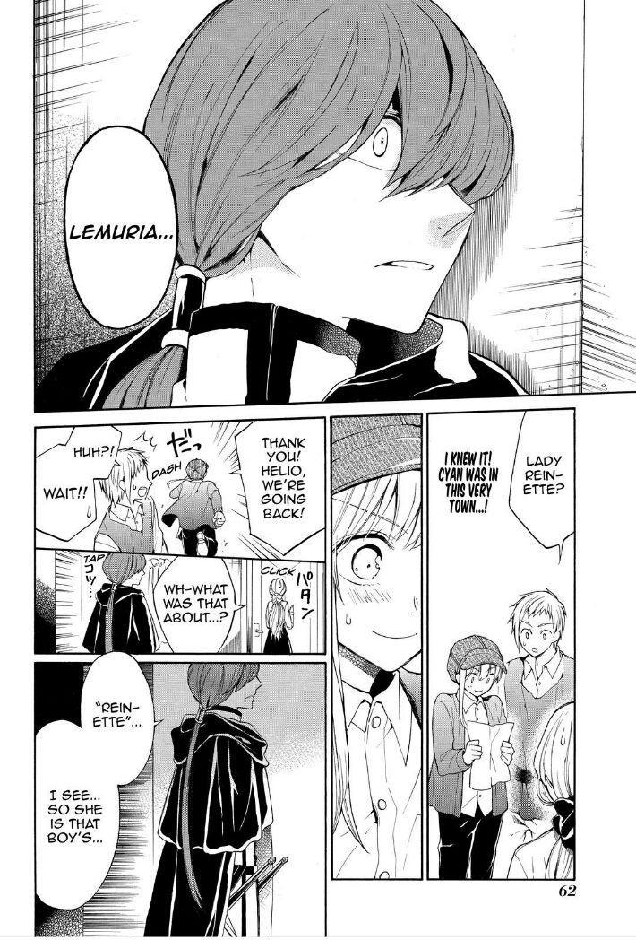 Shinigami to Gin no Kishi - Chapter 12