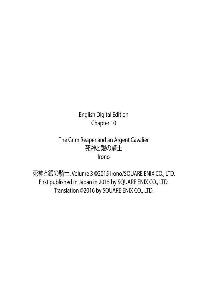 Shinigami to Gin no Kishi - Chapter 13