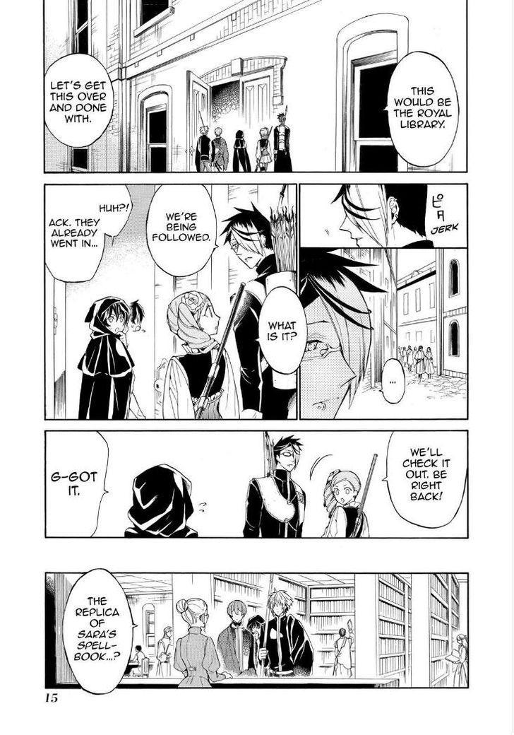 Shinigami to Gin no Kishi - Chapter 16