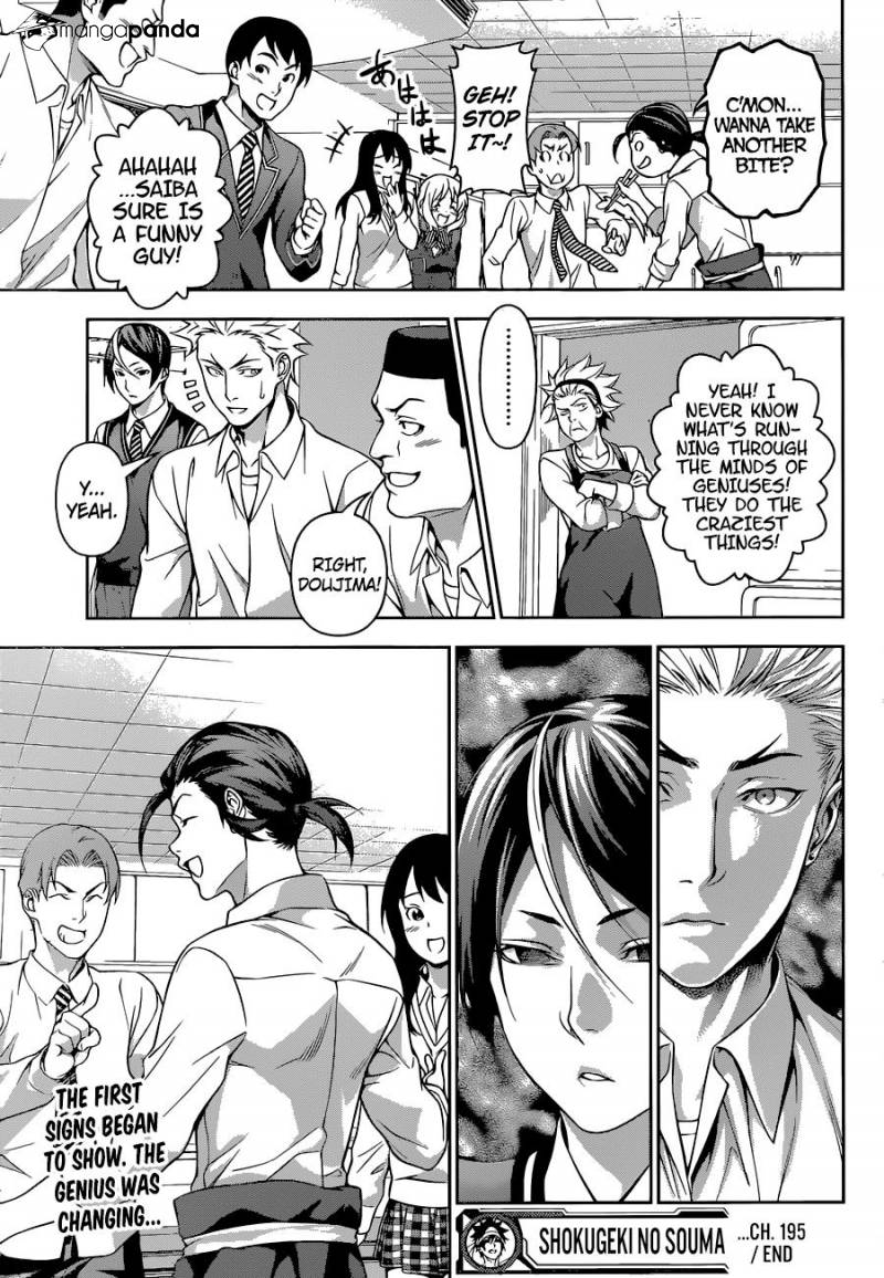 Shokugeki no Soma - Chapter 263