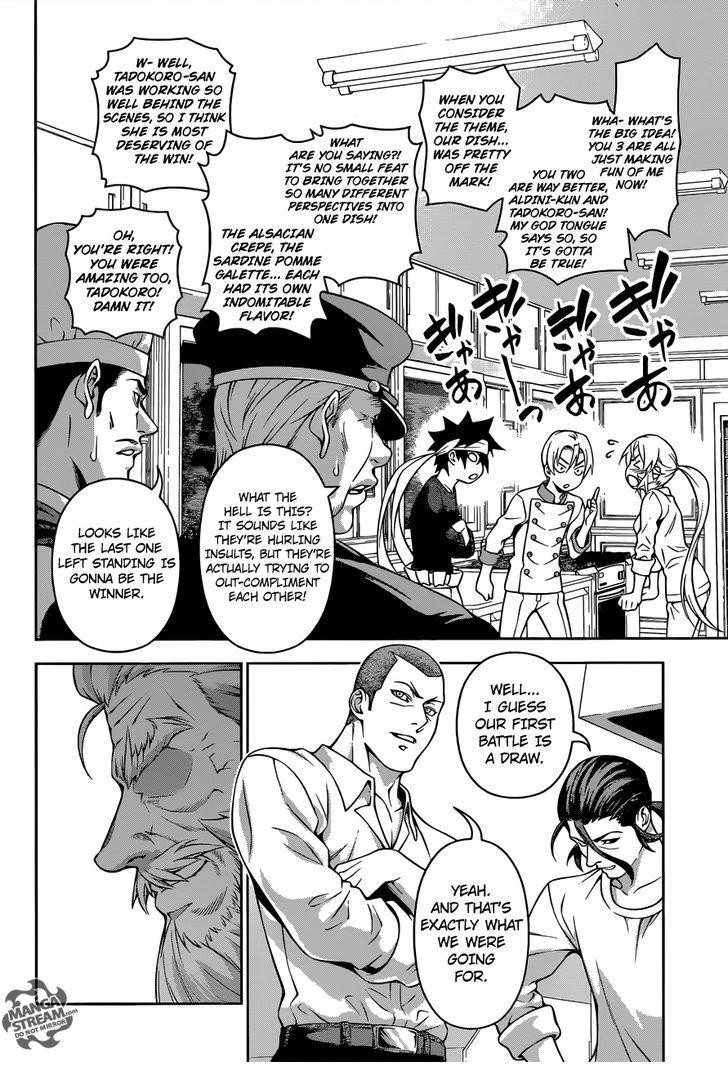 Shokugeki no Soma - Chapter 272