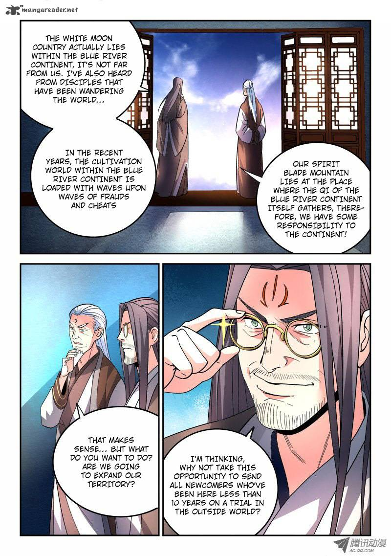 Spirit Blade Mountain - Chapter 77