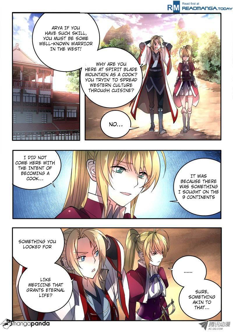 Spirit Blade Mountain - Chapter 81