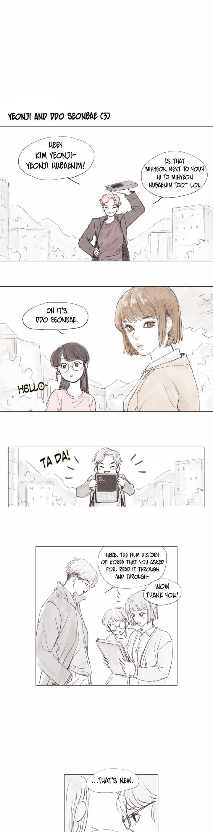 Strawberry And Milk Tea - Chapter 4