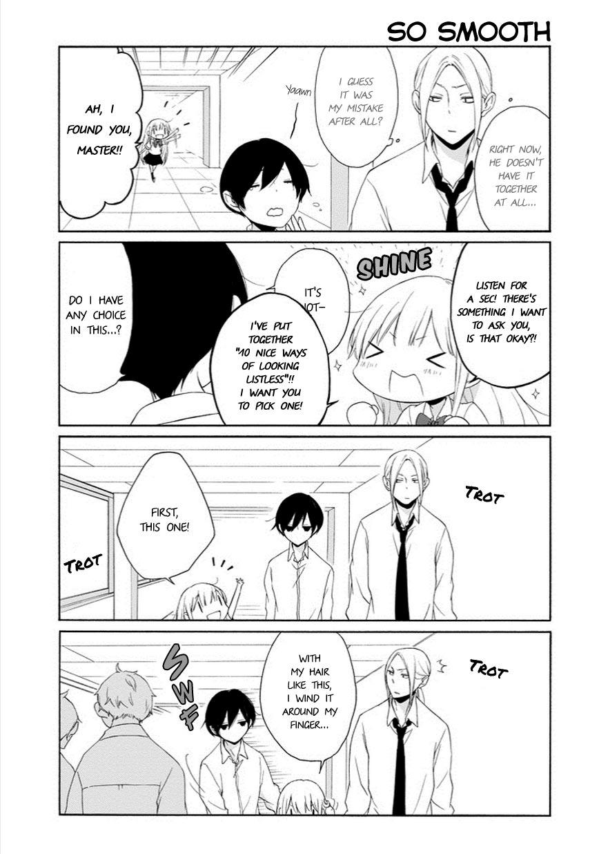 Tanaka-kun wa Itsumo Kedaruge - Chapter 50