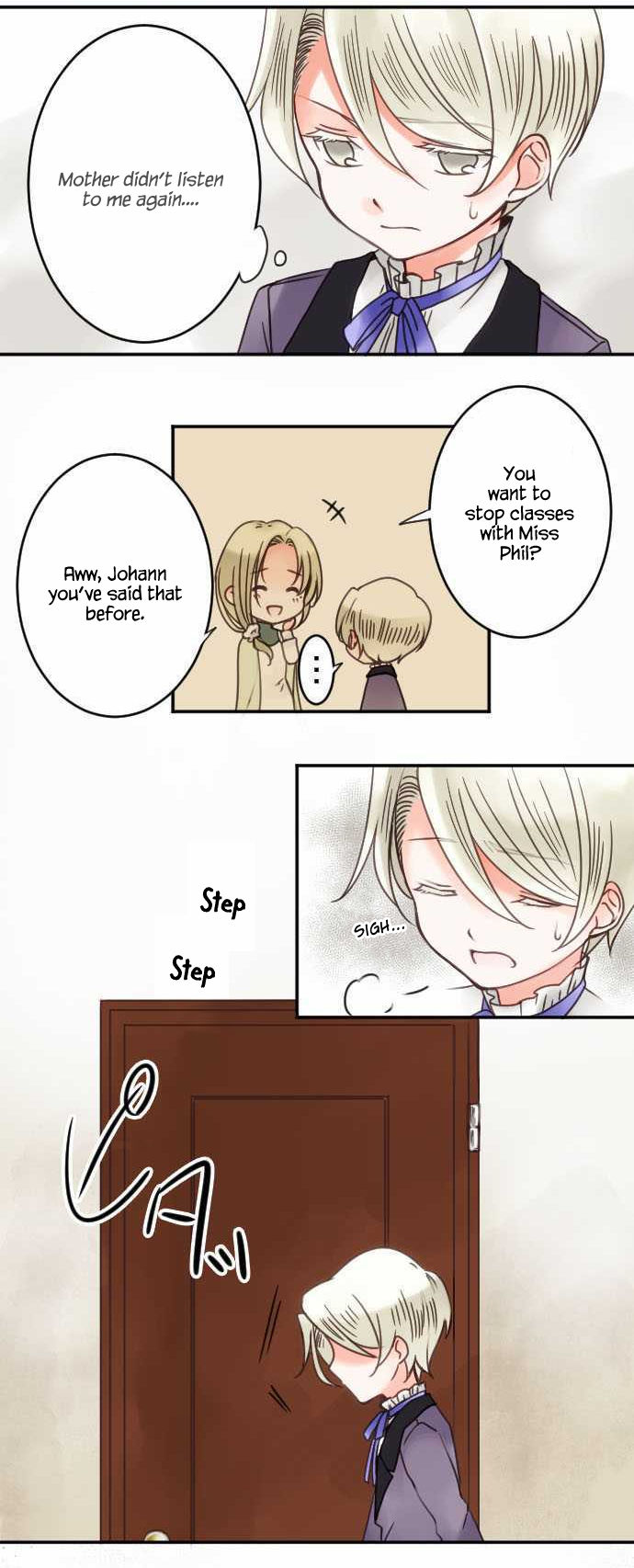 The Young Master and The Maid - Chapter 15