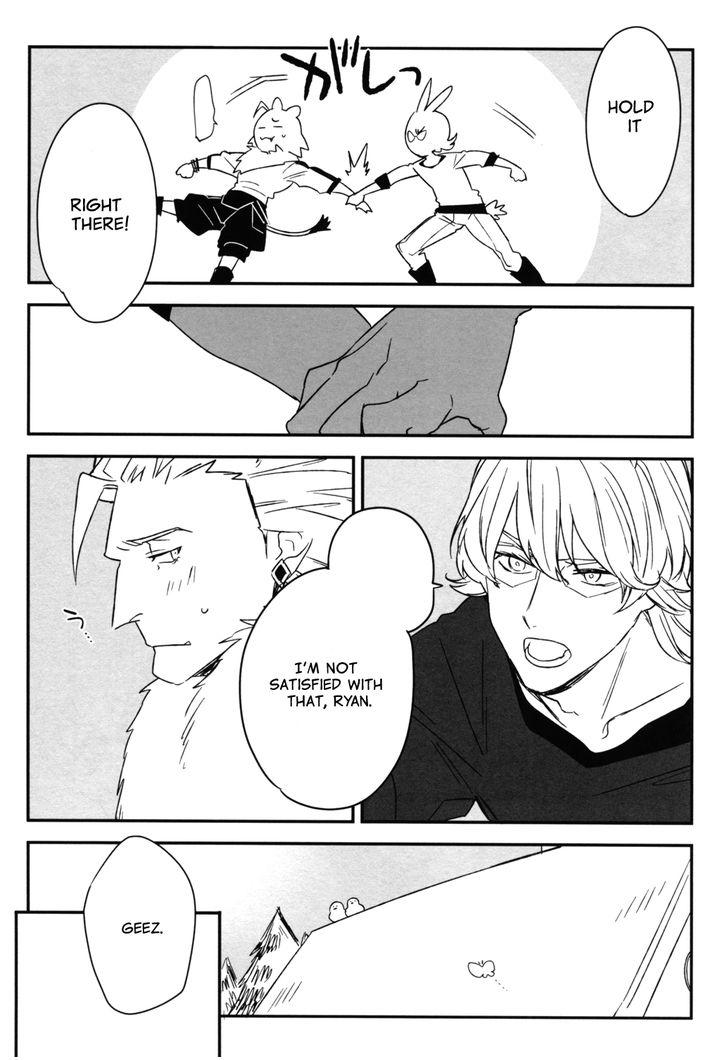 Tiger & Bunny Dj - Oishii Ai No Tabekata. - Chapter 1