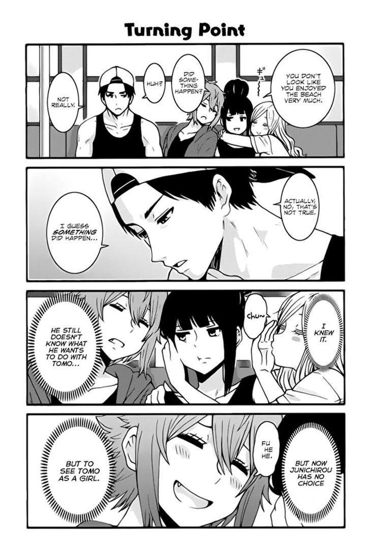 Tomo-chan wa Onnanoko! - Chapter 413