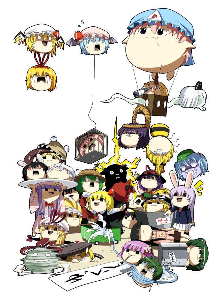 Touhou Project dj - Touhou Yukkuri World - Chapter 1
