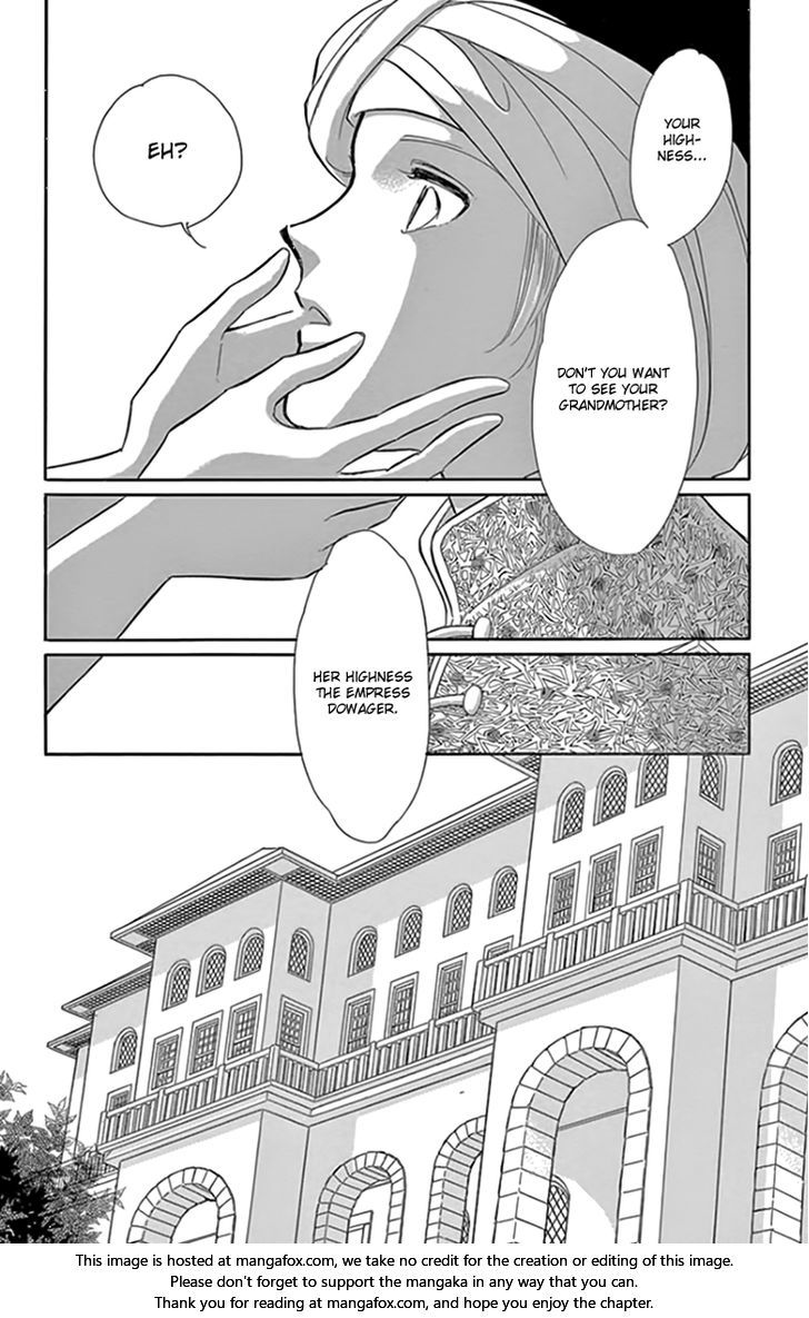 Yume no Shizuku, Ougon no Torikago - Chapter 25