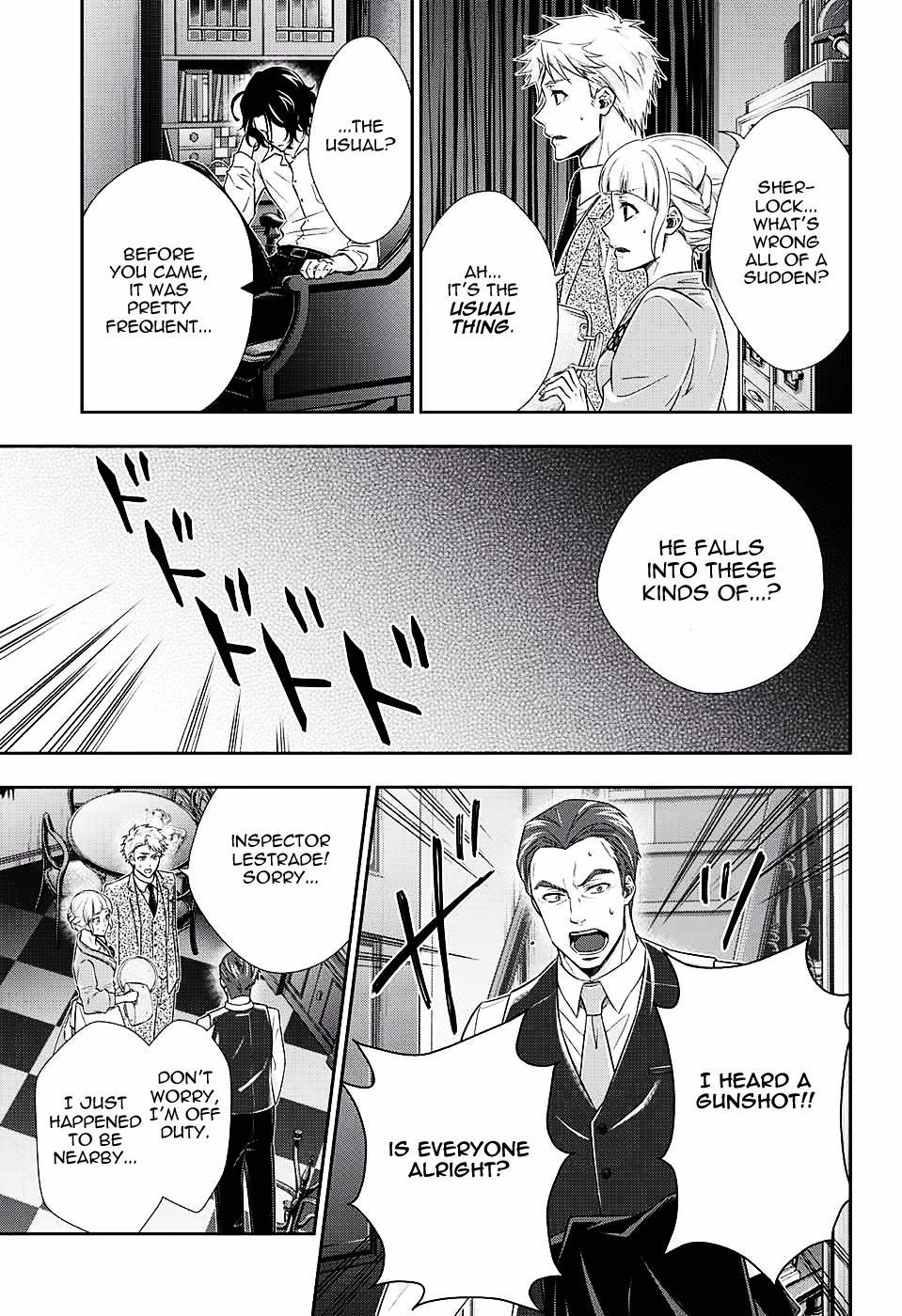 Yuukoku no Moriarty - Chapter 17