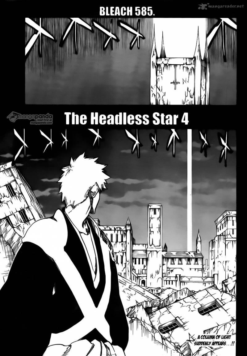Bleach 585: The Headless Star 004